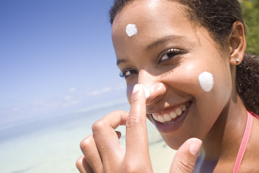 Sunscreen for acne
